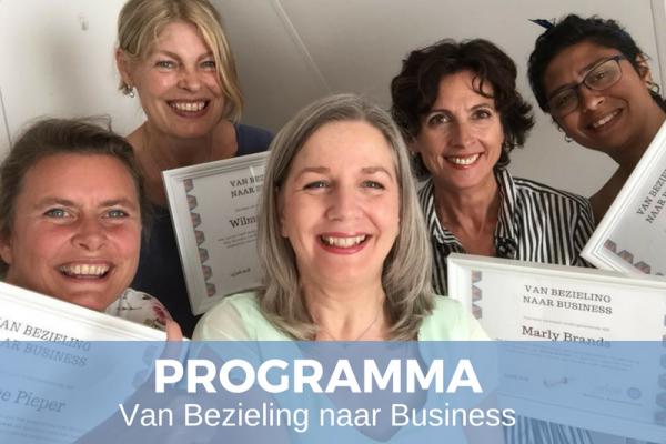 PROGRAMMA Van Bezieling naar Business